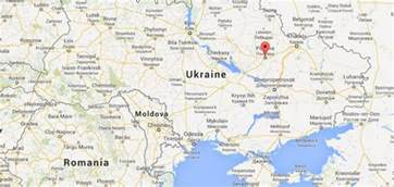 Poltava on map of Ukraine   World Easy Guides