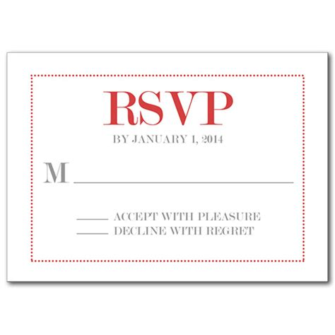 rsvp by cards template response cards