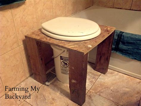 Homemade Composting Toilet how to make your own diy composting toilet farming my