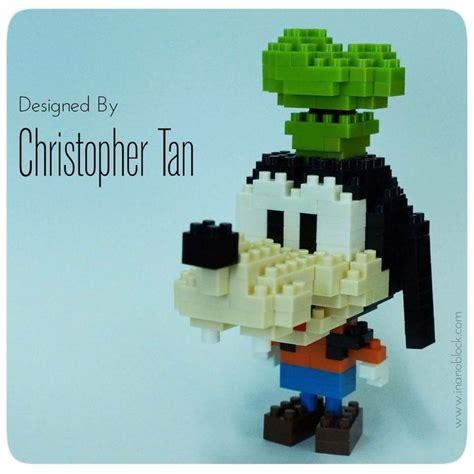 Lego Nanoblock Mickey Captain America my nanoblock goofy christopher
