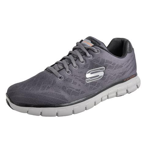 Size 25 5 Sepatu Sandal Original Skechers Synergize Current skechers synergy tune memory foam mens fitness running trainers grey ebay