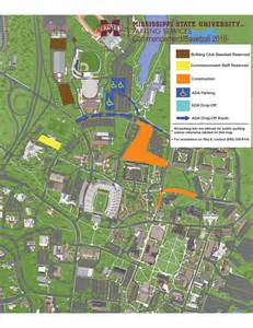 Mississippi State Campus Map by Weekend Graduation Baseball Visitors Urged To Plan Ahead