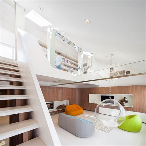 small loft house with aesthetics modern in singapore hungarian loft design uses a simple aesthetic for big