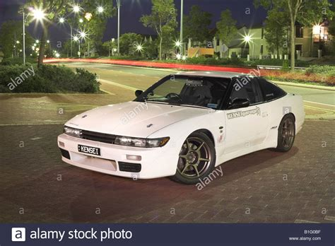 nissan 180sx modified modified japanese nissan s13 180sx silvia sports car stock