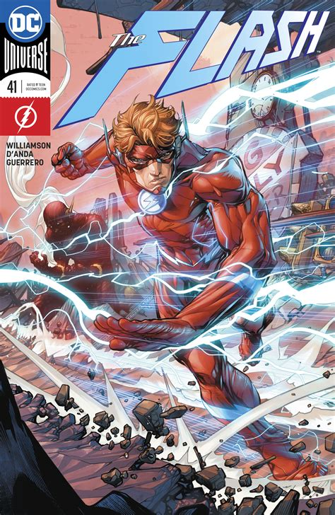 Dc Justre War The Flash dc comics universe the flash 41 spoilers flash war prelude wally west is the flash while a