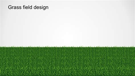 yes or no grass pathway powerpoint template