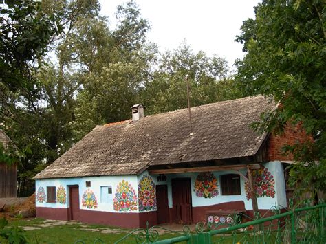 Painted Cottage by File Zalipie Painted Cottage 11 Jpg