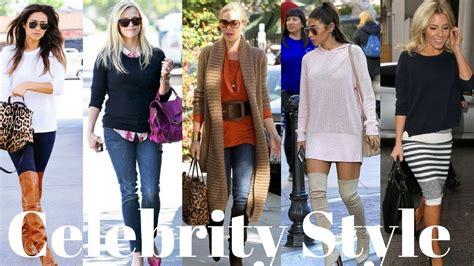 celebrity jeans 2018 how celebrities rock sweaters fall 2017 winter 2018