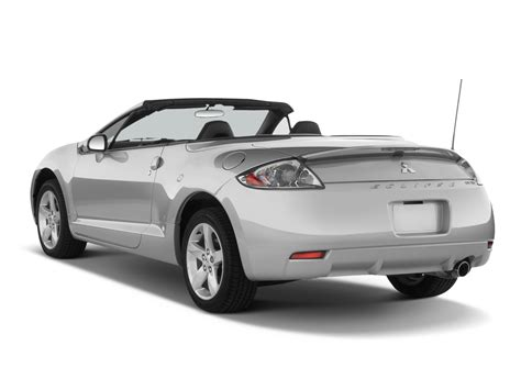 mitsubishi convertible 2007 2007 mitsubishi eclipse spyder reviews and rating motor