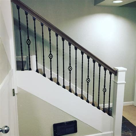 Wrought Iron Banister Railing Best 25 Wrought Iron Stairs Ideas On Pinterest Wrought