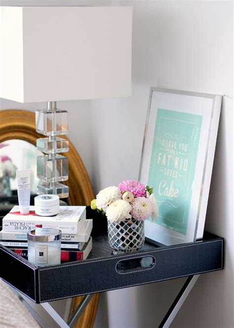 styling a table tray table styling 3 ideas for your home the daily dose