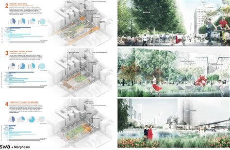 design competition los angeles four finalists selected to redesign pershing square in los