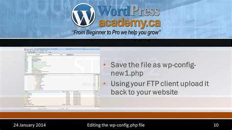 tutorial wordpress editor tutorial increasing wordpress memory by editing wp config