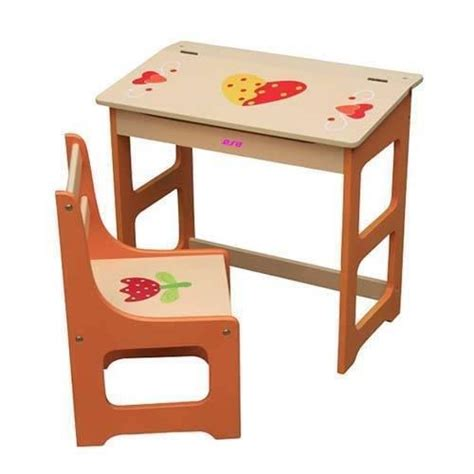 Wooden Toddler Desk by Wood Desk Chair Room 4 Interiors