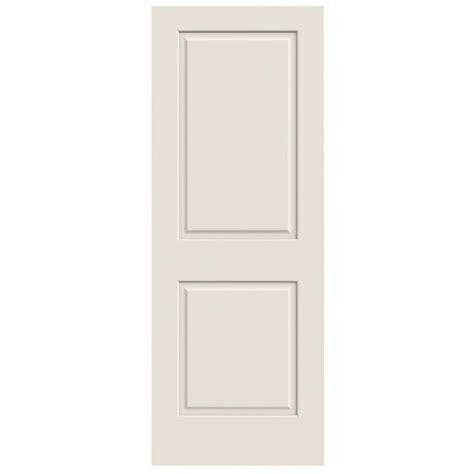 jeld wen interior doors jeld wen 30 in x 80 in primed c2020 2 panel solid