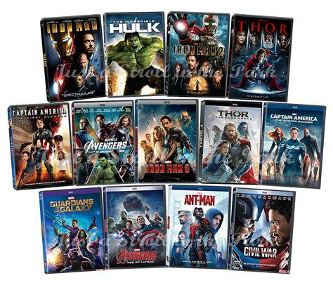 Iron Dvd Box Set Collection Koleksi marvel cinematic universe mcu complete series franchise box dvd set s ebay