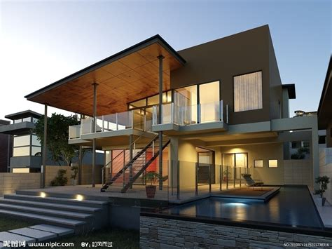 home design 3d juego 创意设计现代别墅场景模型源文件 室外模型 3d设计 源文件图库 昵图网nipic com
