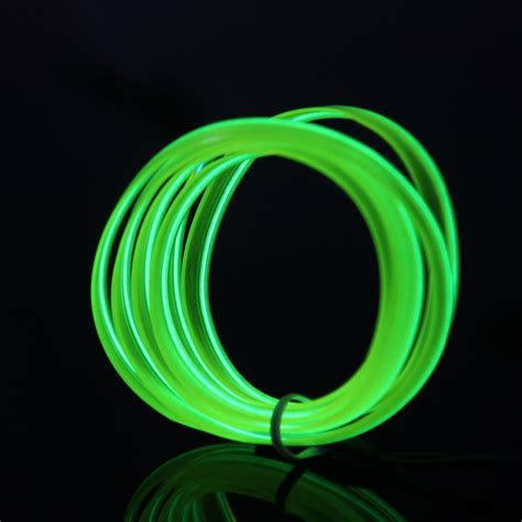 New Glow Hn 2 Setara Html 2016 new 2m 10 colors diy lights led neon glow el wire rope decoration lights fit