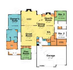Home Plans Design Basics One Story House Plans With Open Floor Plans Design Basics