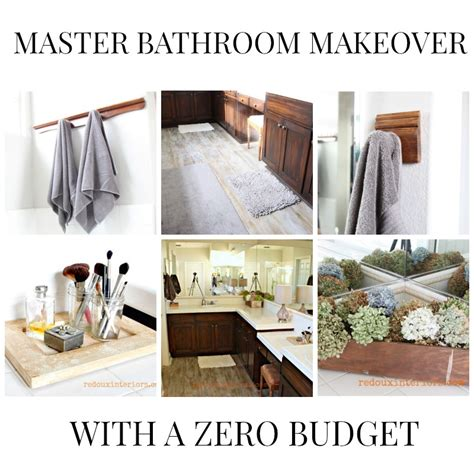 low budget bathroom makeovers master bathroom makeover how to paint a sub floor