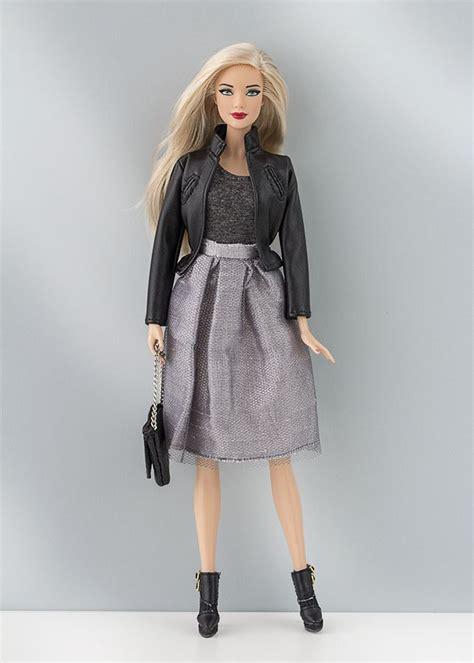imagenes de barbies rockeras cazadora piel barbie mu 241 ecas pinterest barbie y moda