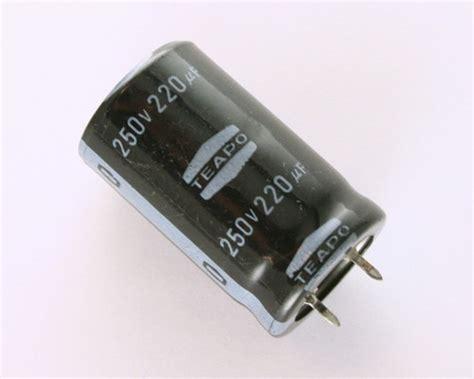 capacitor eletrolitico 220uf 250v ly250m0220s teapo capacitor 220uf 250v aluminum electrolytic snap in 2020031049