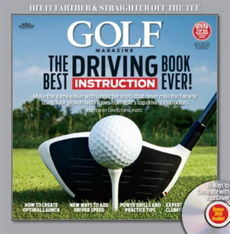 best golf swing book golf the best driving instruction book ever golf