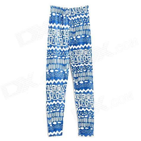 geometric pattern jeans hqs g101719 women s fashion geometric pattern ninth pants