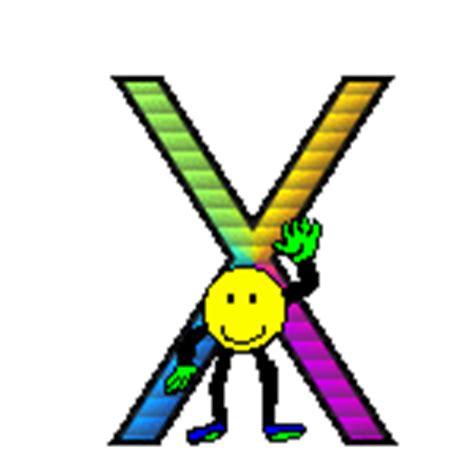 faccine con le lettere immagini e gif animate di lettere con emoticon colorate