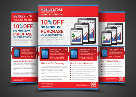 promotional flyer templates product promotion flyer templates flyer templates on