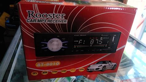 Audio Mobil Mobil Rooster jual mobil headunit rooster bluetooth mp3 radio usb