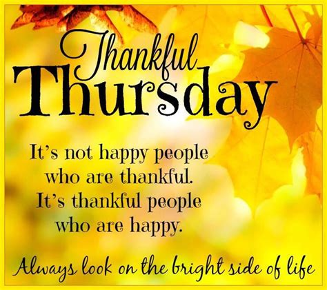 Thankful Meme - thankful thursday look on the bright side of life