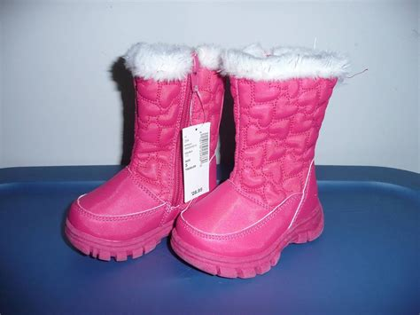 toddler snow boots baby toddler sz 5 snow boots brand new ebay