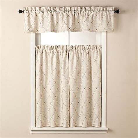 tier curtains bathroom wellington bath window curtain tier pairs and valance