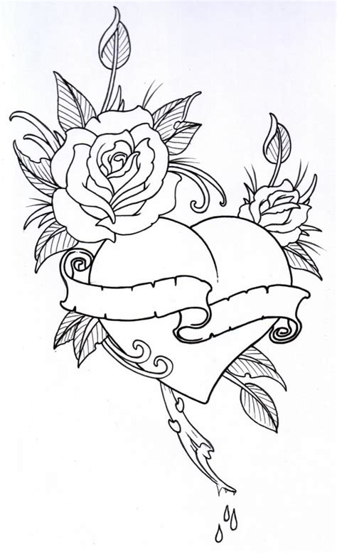 rose outline clipartion com