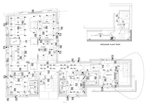 lighting layout electrical design outsourcing cad drawings