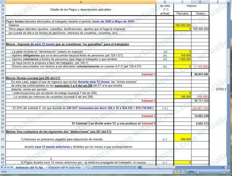 liquidador modelo para definir porcentaje fijo de 187 procedimiento 2