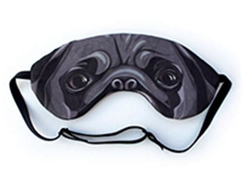 pug sleep mask pug sleep mask on behance