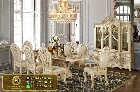 Meja Makan Jati Mewah toko mebel jepara furniture jati minimalis harga