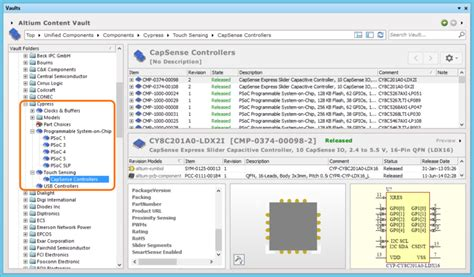 altium 1206 resistor library cypress touch controls documentation for altium products