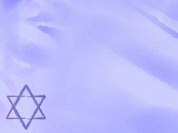 powerpoint themes judaism star of david 08 powerpoint templates