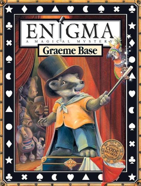 enigma film book enigma a magical mystery by graeme base hardcover