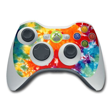 design xbox 360 controller tie dyed xbox 360 controller skin istyles