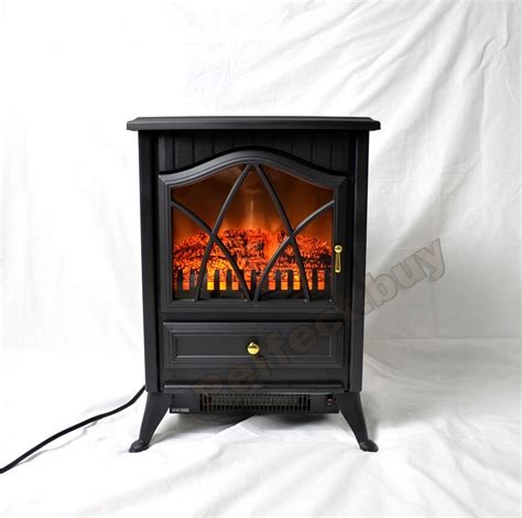 16 quot free standing portable small size electric fireplace