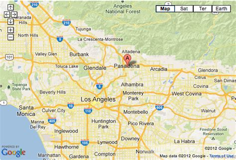 pasadena california map introducing our pasadena cottage our cozy cubbyhole