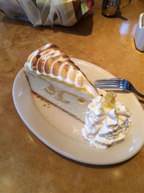 lemon drop cheesecake factory cheesecake factory lemon meringue cheesecake yummy