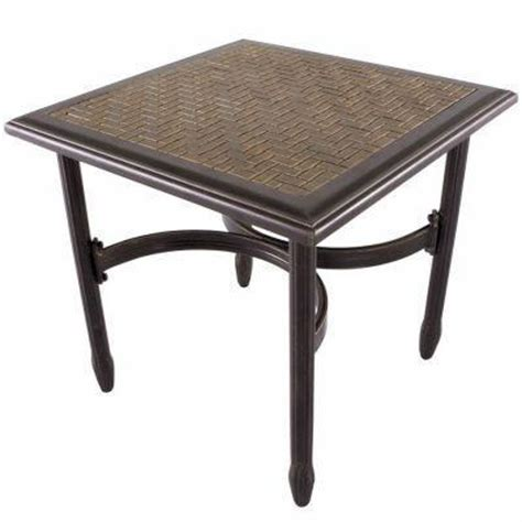 Martha Stewart Patio Table Martha Stewart Living Palamos 20 In Patio Side Table 2 2020 13 0sc The Home Depot