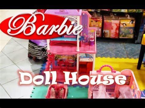 barbie dream house car barbie doll dream house barbie car barbie playground youtube