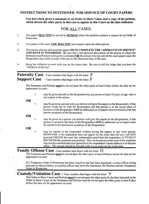 Affidavit Template For Family Court Templates Data Affidavit Template For Family Court