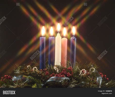 stock candele advent candle stock photo stock images bigstock